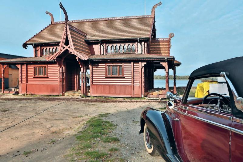 Drewniane pokrycie dachu